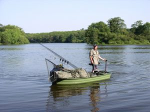Pêche de la carpe en Vendée